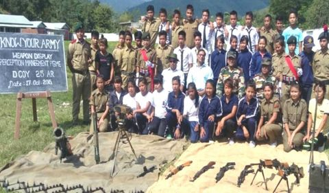 Jwalamukhi battalion organises ' know your army drive'