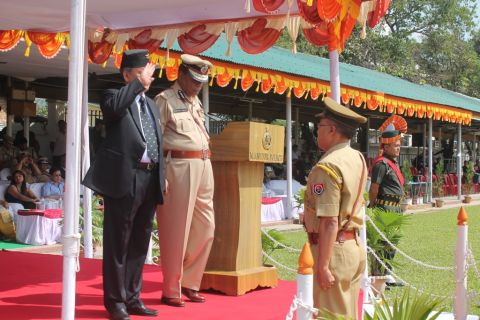 124th Raising Day Parade of Manipur Police held