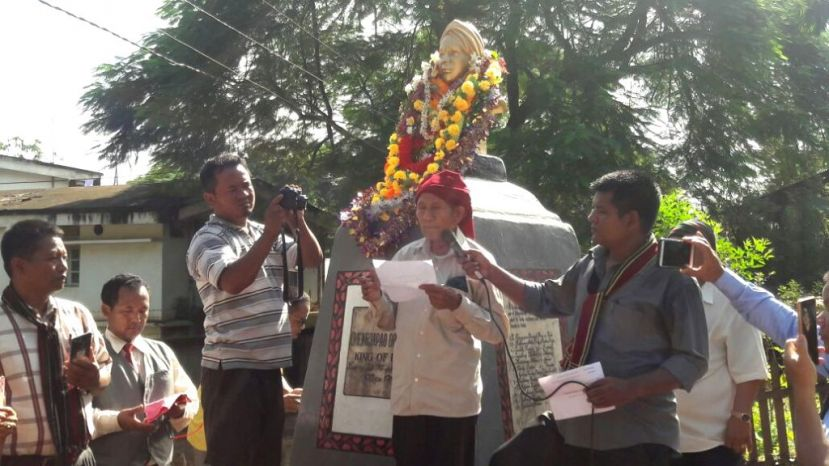 Anglo Kuki War heroes remembered;  fitting tribute paid to Kuki Martyrs and Kuki King  Chengjapao