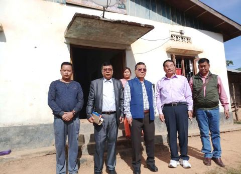 Agriculture minister inspects veterinary Hospital at Moreh