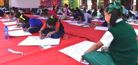 KSA organizes painting competition