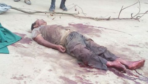 "School headmaster killed on ""Cow theft"" charge;  Imphal-Yairipok road blocked"