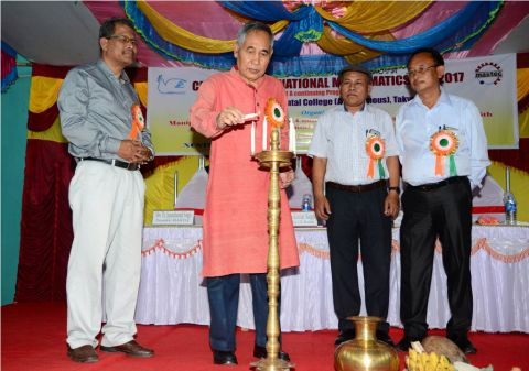 Deputy Chief Minister inaugurates National Mathematics Day celebration