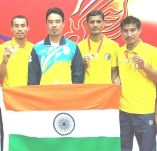 Manipur Players bag 3 Gold Medals for International Championship