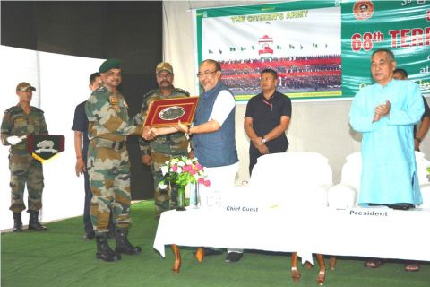 State observes 68th Territorial Army Day; Territorial army is the interface between army and people: CM
