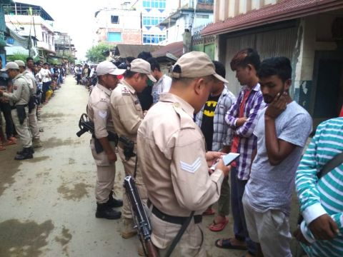 Mass combing operation conducted at various places ahead of Independence Day celebration