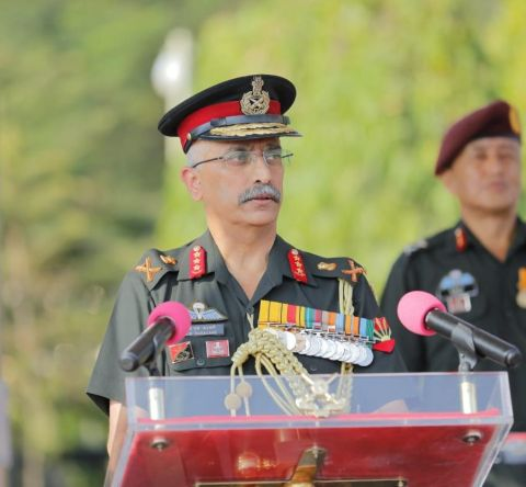 Lt Gen Mm Naravane Relinquishes Command Of Eastern Command