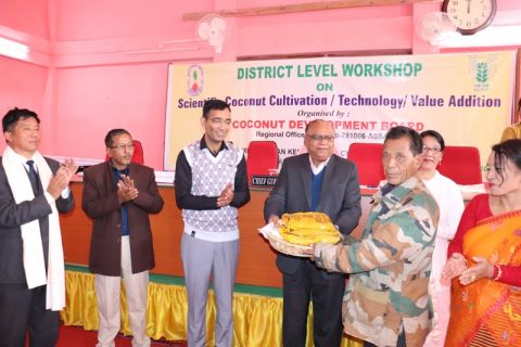 Workshop on Scientific Cultivation of Coconut