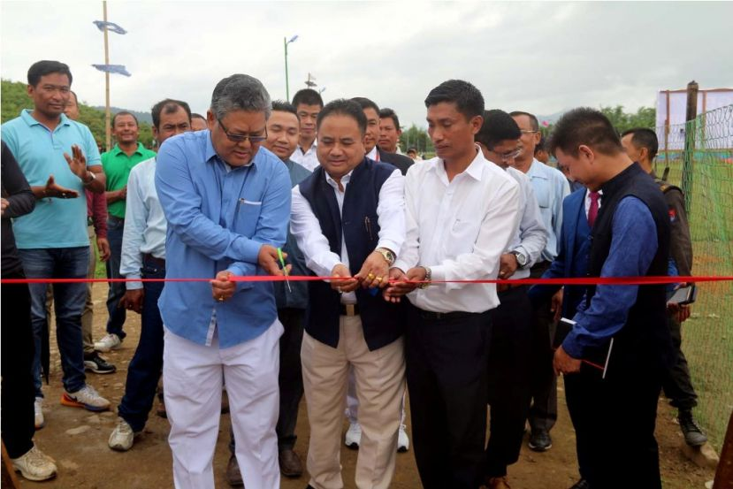 Minister Karam Shyam inaugurates Langei Ro Water Supply Project