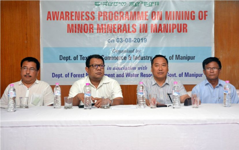 Regulation Necessary for sustainable Sand Mining: P.Vaiphei