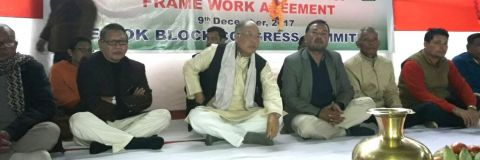 Congress continues Sit-in-protest demanding disclosure of Framework Agreement