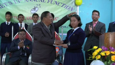 Kakching Educational Trust distributes scholarship awards