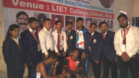 Manipuri players bag medal in 1st World Mix Boxing Championship