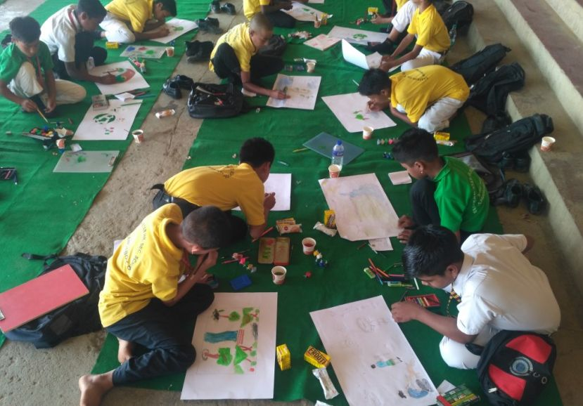 "Painting Competition held to mark ""International Day of Biodiversity 2019"""