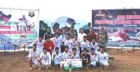 Assam Rifles organises Football Tournament at  Indo-Myanmar Border