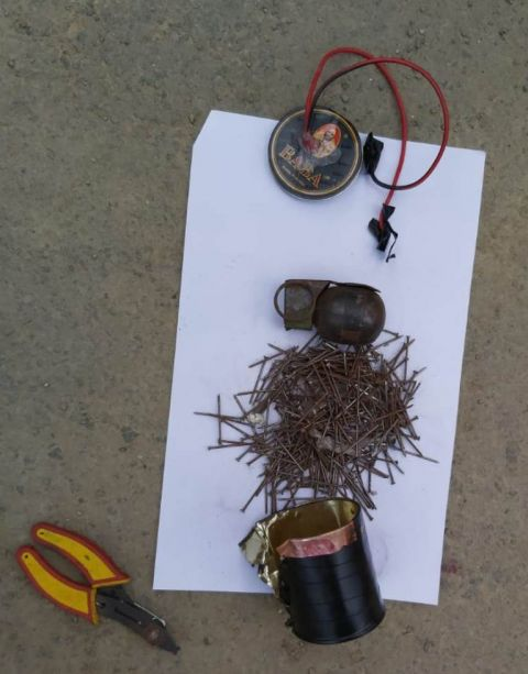 2 bombs found at two different places in Imphal East