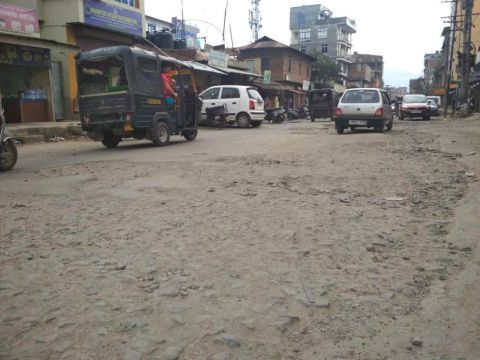 Nagamapal RIMS road a nightmare for patients