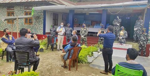 CRPF conducts awareness prog. on COVID-19