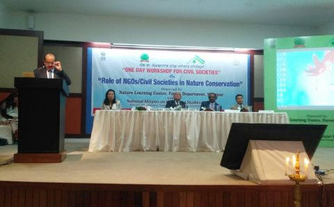 "Workshop on ""Role of NGOs/Civil Societies in Nature Conservation"" held"