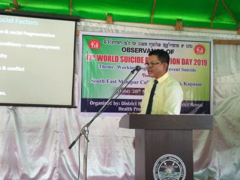 17th World Suicide Prevention Day Observed at Chandel