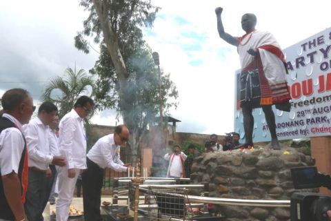Haipou Jadonang remembered on 88th Death Anniversary