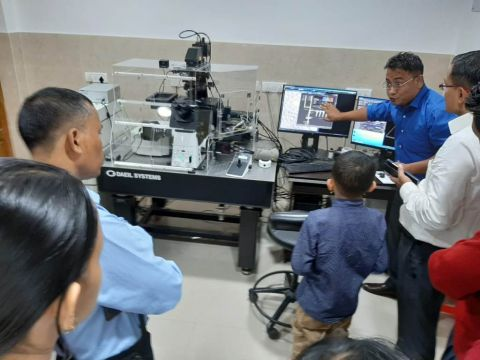 Students exposed to scientific ideas and innovations