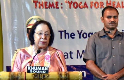 Yoga can be an effective tool to counter the menace of substance abuse: Dr. Najma Heptulla