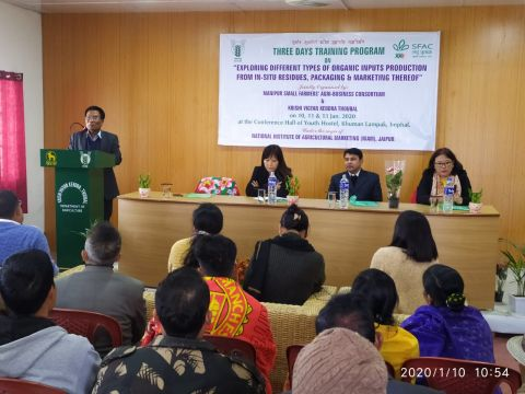 Three Days Farmers Training Programme Begins