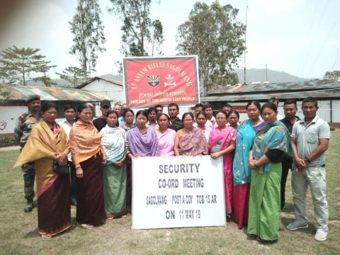 Assam Rifles Conducts Security Meets
