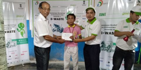 Campaign on e-waste disposal held