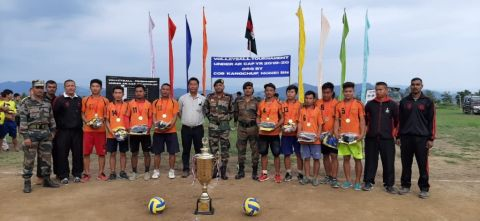 Assam Rifles Conducts Friendly Volleyball Tournament