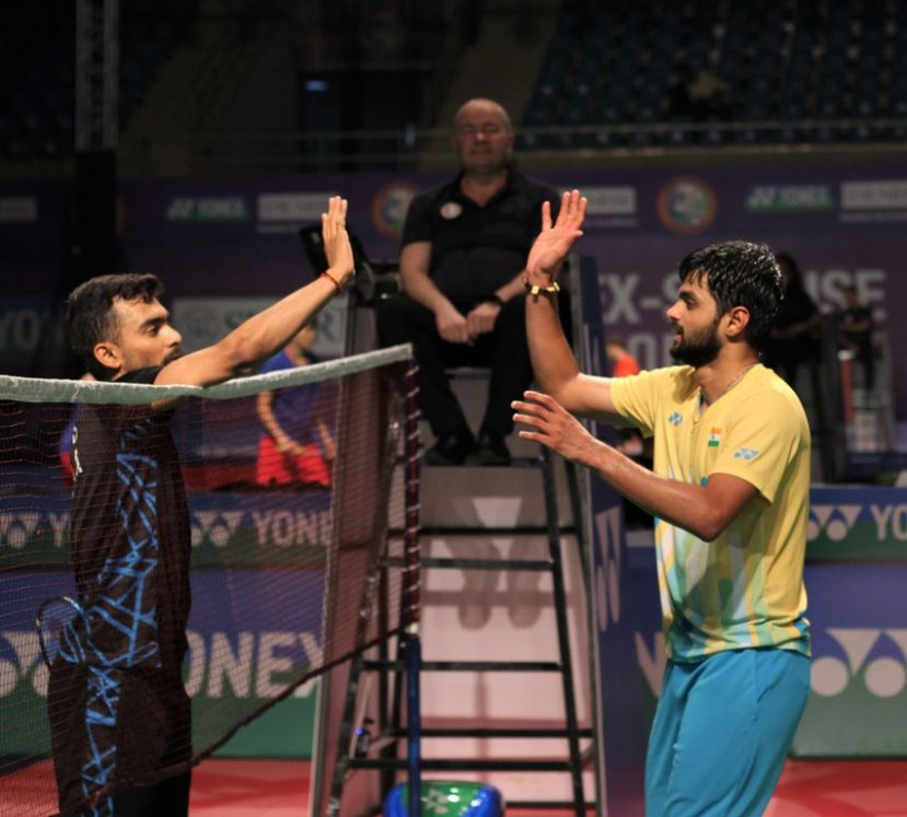 Sai Praneeth edges Sameer in all-Indian thriller; Kashyap cruises at Yonex-Sunrise India Open 2019