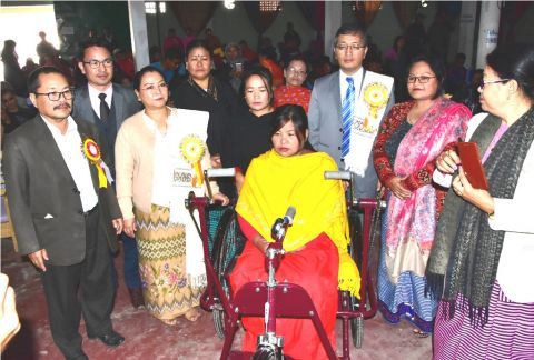 International Day of Persons with Disabilities observed;  Nemcha Kipgen launches UDID Project in all the Districts of Manipur