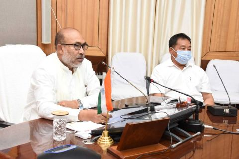 CM inaugurates three phed projects through video conferencing