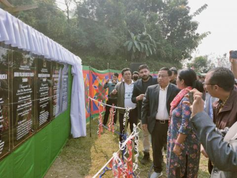 Forest Minister Shyamkumar attends Amur Falcon festival