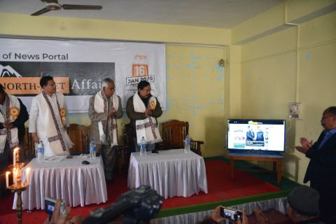 Minister Biswajit launches news portal, speaks on importance of balanced reporting