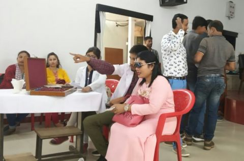 Eye screening camp concludes at press club