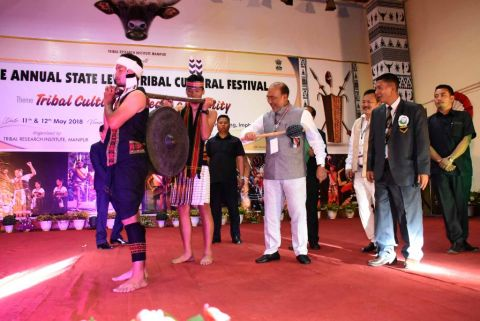 CM opens  Annual  Tribal Cultural Festival; Heritage Park worth Rs. 90 crore at Keibul Lamjao in the of fing