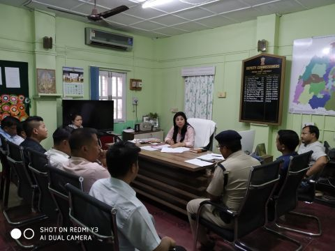 DC Imphal East Reviews Preparedness Ahead of 7th Economic Census