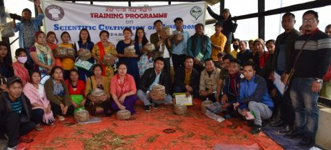 Training Programme on Scientific Cultivation of Mushroom concludes at ICAR