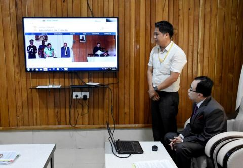 Manipur Lokayukta Website Launched;  Lokayukta Will Work For The Interest Of The Public: Chairperson Nandakumar Singh
