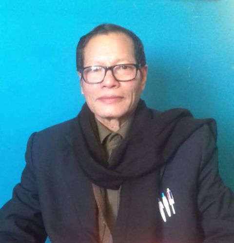Dr. G. Tonsana Sharma to contest as MDPF candidate for Inner Manipur PA Lok Sabha Election