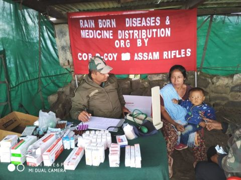 Assam Rifles Organises Health Awareness Drive