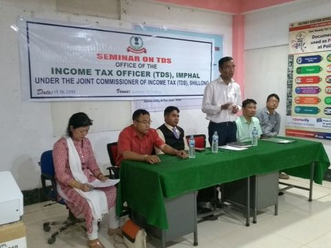 Seminar Cum Awareness Programme  On TDS Held