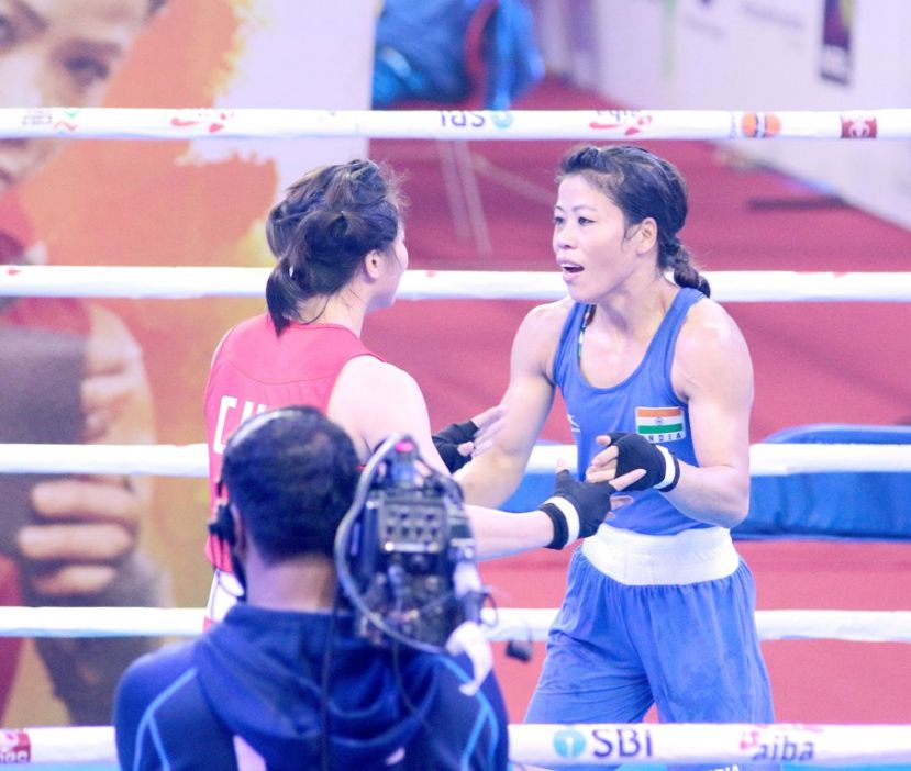 Four Indians enter medal round; Mary leads the way in World Boxing