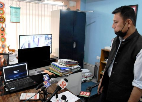 Edn. Minister launches E-video web portal to cater the needs of students during lockdown; Mobile application to be available soon
