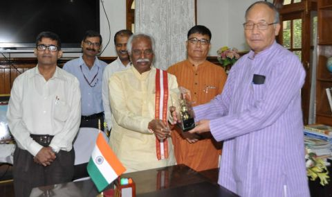Union Labour Minister visits Imphal