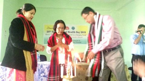 World Mental Health Day held at Chandel