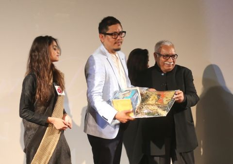 "Oinam Dilip honoured with ""Rising Star"" award"