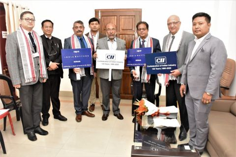 Team of CII called On CM